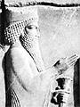 King Xerxes bas relief